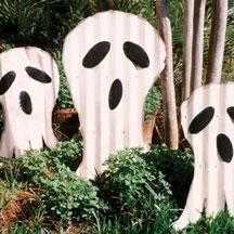 corrugated metal ghosts