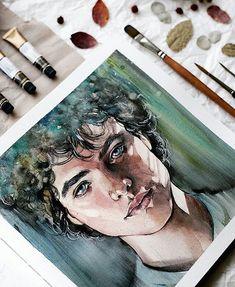 Watercolorist: @n_shtark #waterblog #акварель #aquarelle #drawing #art #artist #artwork #painting #illustration #watercolor #aquarela