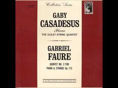Gabriel Fauré: Quintet No. 2 For Piano And Strings in C minor, Op. 115 I Allegro Moderato 0:00 II Allegro Vivo 11:05 III Andante Moderato 14:59 IV Allegro Mo...