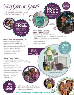 If you, or someone you know is interested in sharing a great product with others, or simply earning a discount for their friends and family, now is a great time to sign up with Scentsy! Both Scentsy Fragrance and Velata Starter Kits are $99, and this month only, shipping is waived on the starter kit! There is also the opportunity to earn $300 in free product by hitting an easily-attainable goal!  I'd love to have you on my team! https://superawesome.scentsy.us/Enrollment/Join