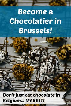 DREAM JOB: Be a chocolatier at Zaabar in Brussels (Belgium). Attend a class, make some chocolate, and eat your creations! :)