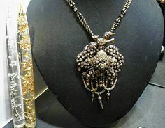 Antique with Diamonds- Αντίκα Κολιέ με διαμάντια