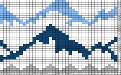 knitting mountains - Google Search