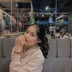 Aesthetic Fonts, Aesthetic Girl, Filipina Girls, Boys With Curly Hair, Cute Girl Face, Indonesian Girls, Girl Hijab, Girl Photography Poses, Dance Videos