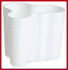 Iittala Aalto 3-3/4-Inch White Glass Vase - Improve your home (*Amazon Partner-Link)