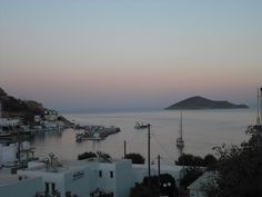 Pre-dawn view from Studios Happiness in Panteli, Leros, where Jess, Clair's daughter in Terrible With Raisins, spends her 18th birthday.