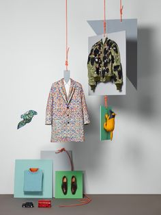 BFC & GQ Collections by Sarah Parker, London »  Retail Design Blog
