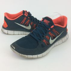 watch 922f8 cea14 Nike Shoes   Nike Free 5.0 Free Run Blue Orange Sneakers   Color  Blue