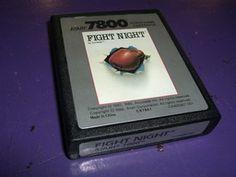 Vintage Fight Night Game for Atari 7800 | $6 start bid | Saturday October 13, 1pm CDT #Tophatter