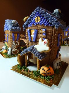 All sizes | Halloween Gingerbread Houses | Flickr - Photo Sharing!