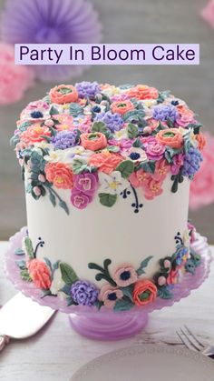 Gorgeous Cakes, Pretty Cakes, Cute Cakes, Yummy Cakes, Amazing Cakes, Cake Decorating Frosting, Birthday Cake Decorating, Cookie Decorating, Brownie Frosting