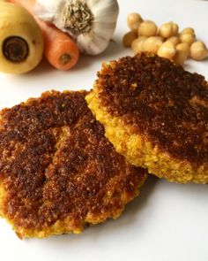 Veggie Patties, Vegan Dinners, Food Inspiration, Vegan Recipes, Food Porn, Brunch, Food And Drink, Healthy Eating, Meals