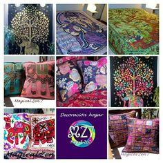 """""""Magical Zen 7"""" Decoracion hogar Moda.india Siguenos en Facebook Instagram y Youtube,"""