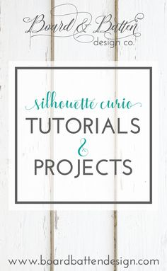 Welcome to the Silhouette Curio Tutorials & Projects board by Board & Batten SVG! I love my Curio and have carefully collected the best tutorials, projects, tips and tricks for the Silhouette Curio. Don't forget to check out and follow the rest of my boards for great SVGs, business tips, and more!