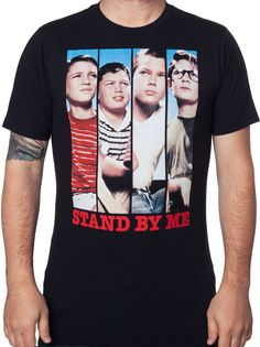 Character Strips Stand By Me Shirt: Stand By Me Mens T-Shirt