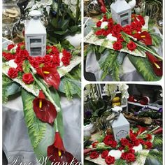 Kompozycja nagrobna,kompozycja na grób,kompozycja dekoracyjna www.decowianka.pl
