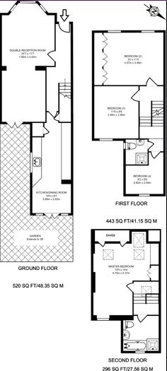 Victorian terraced house floor plans Victorian