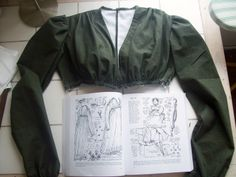 Regency Dress Patterns Free | Green Regency Daydress; Progress!