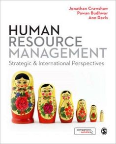 Crawshaw, Jonathan R. Human resource management. Plaats: 658.3 CRAW