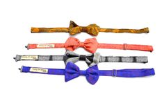 Bow Ties made from re-purposed Sari's http://beautyforashesnepal.com/collections/repurposed-sari/products/bow-tie