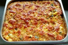 Kritharaki – casserole by james Healthy Dinner Recipes, Keto Recipes, One Pot Pasta, Pampered Chef, Greek Recipes, Food Lists, Food Pictures, Finger Foods, The Best