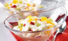 Bebidas Detox, Fruit Salad, Potato Salad, Macaroni And Cheese, Breakfast, Ethnic Recipes, Desserts, Food, Dressings