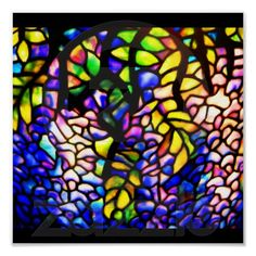 Poster-Stained Glass-Tiffany 4