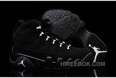 0589affe29b57c Girls Air Jordan 9 Anthracite White-Black For Sale Authentic C4Zah6