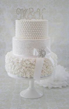 White wedding cake ?