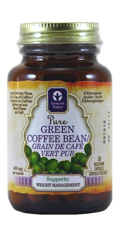 Buy Genesis Today Green Coffee Bean Extract