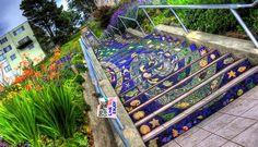 ¿Dónde están las escaleras más bonitas del mundo