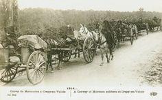 Carte Postale Postcard 1914-1918 1914 Convoi de Marocains à Crepy-en-Valois Convoy of Morrocans with Crepy-in-Valois   Flickr - Photo Sharing!
