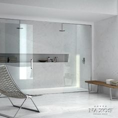 Built in shower shelving.  Like how its long and it would be cool if kind of zigged and zagged.
