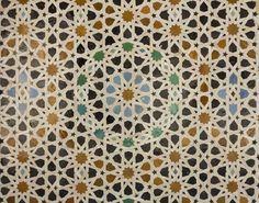 Azulejos de los baños árabes.