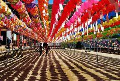 South Korea, Muju-gun, South Korea #travel #color #SouthKorea