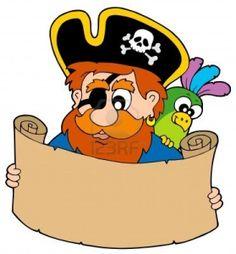 Piraten Schat Kaart - Vector Afbeelding Lezen. Royalty Vrije Cliparts, Vectoren, En Stock Illustratie. Image 5931553.