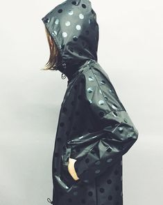 black on black spot our newest raincoat addition in store and online today xx…