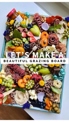 Charcuterie Recipes, Charcuterie Platter, Charcuterie And Cheese Board, Fun Baking Recipes, Great Recipes, Party Food Platters, Party Trays, Appetizer Recipes, Appetizers