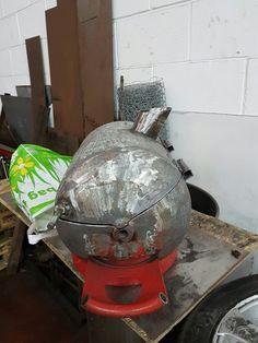 Gas Bottle Bbq, Charcoal Grill, Outdoor Decor, Home Decor, Charcoal Bbq Grill, Interior Design, Home Interior Design, Home Decoration, Decoration Home