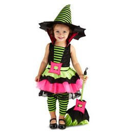 baby spiderina costume - For your little witch-in-training, a more-cute-than-scary ensemble.