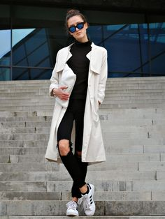 trippin 'on fashion: OOTD- TRENCH COAT
