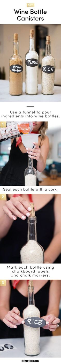 7 Easy Wine Crafts - Best DIY Wine Bottle, Cork, and Glass Project Ideas {wine glass writer}