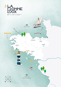 Travel and Trip infographic Fraise basilic x La Bonne Box Infographic Description Fraise basilic x La Bonne Box – Infographic Source – Map Design, Book Design, Travel Maps, Travel Destinations, Design Graphique, City Maps, Cartography, Me On A Map, Graphic Design Illustration