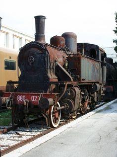 il museo ferroviario a Trieste