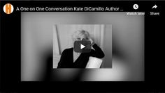 On the difficulties of being profound and funny. Kate Dicamillo, Banks, Author, Lady, Funny, Writers, Ha Ha, Hilarious, Entertaining