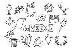 Greece. Travel Infographics