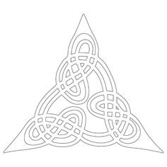 celtic knot design by Melian / source Wikimedia Commons