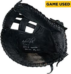 34cfab2e4e1fca David Ortiz Boston Red Sox Autographed Game-Used Black Franklin First Base  Glove from 2015 Season with Multiple Inscriptions - Fanatics Authentic  Certified ...