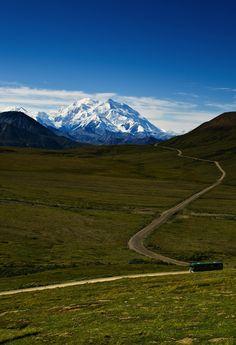 Road trip to Denali National Park in Alaska.