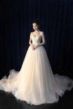 Wedding Dress Ball Gown Ball Gown Tulle Sweetheart Lace up Bowknot Wedding Dresses Western Wedding Dresses, Long Wedding Dresses, Colored Wedding Dresses, Bridal Dresses, Wedding Gowns, Tulle Wedding, Bridesmaid Dresses, Ball Gown Dresses, Tulle Ballgown Wedding Dress